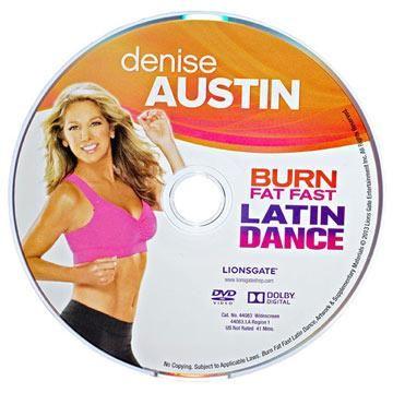 Denise Austin Latin Dance workout dvd