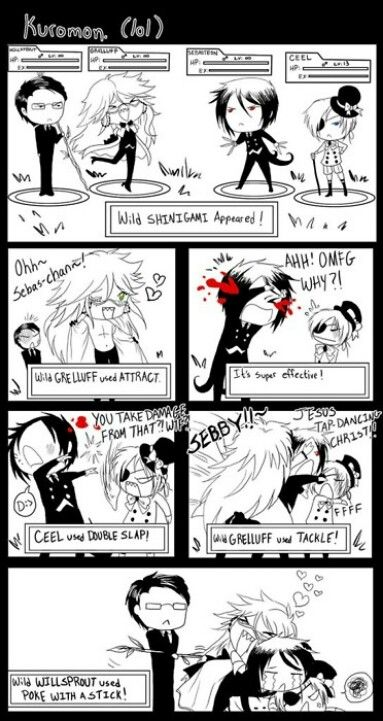 A Pokemon/Black Butler game, I want one