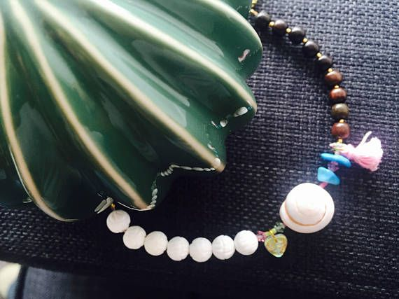 Bracelet coquillage, turquoise et nacre,mother shell ,