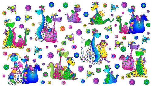 1000 images about fabric dragons on pinterest for Dragon fabric kids