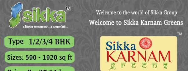 Sikka Kaamna Greens Presents New Residential Project which is located at Sector 143 Noida Expressway