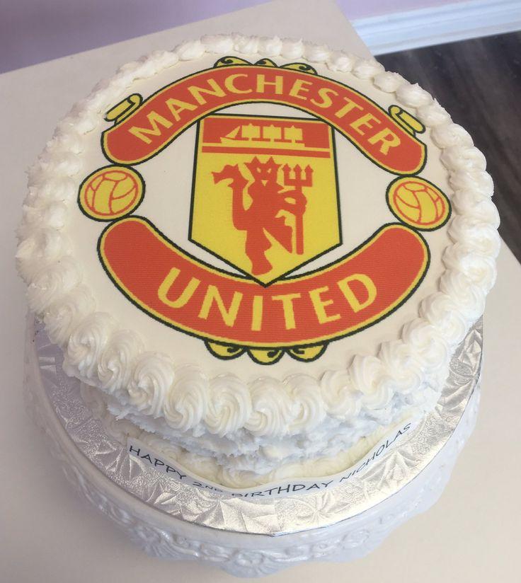 #ManchesterUnited Custom Cake #MUFC #DvasCakes #Cambridge