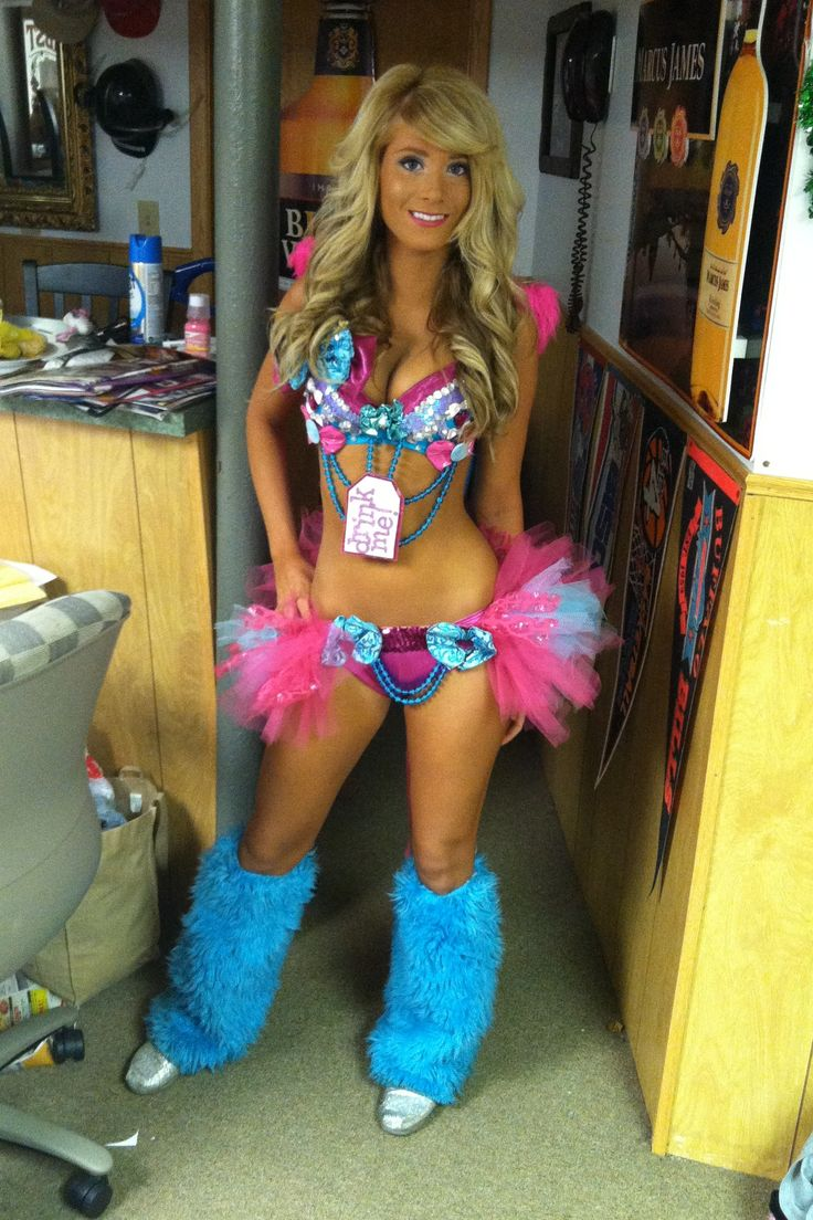 neon alice in wonderland rave edc outfit