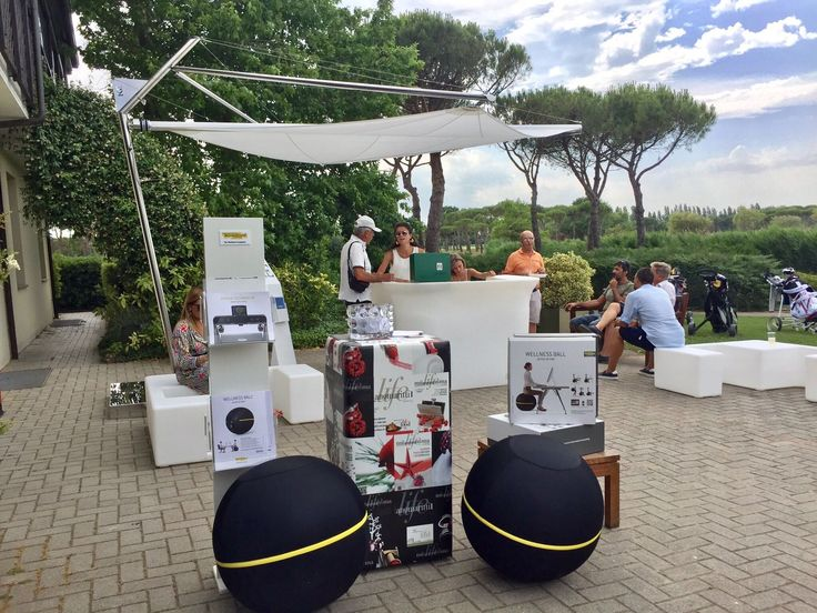 Edilpiù - Porte e finestre | Postazione relax Edilpiù all'Adriatic Golf Club di Cervia - Edilpiù - Porte e finestre