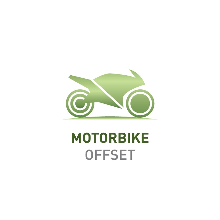 Offset the emissions of your motorbike    Greenfleet will plant enough native trees to capture 2.7 tonnes CO2-e, the average emissions produced by a motorbike in one year.    Visit http://www.greenfleet.com.au/PurchaseOffset/tabid/132/CatID/2/Individual.aspx