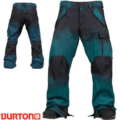 Burton Poacher Snowboard Pants - Pipeline Bright Blue - 2014| Mens Snowboard Pants | FREE UK DELIVERY