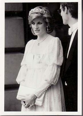 Princess Diana Rare Original Press Photo Tim Graham Pregnant with Harry May 84