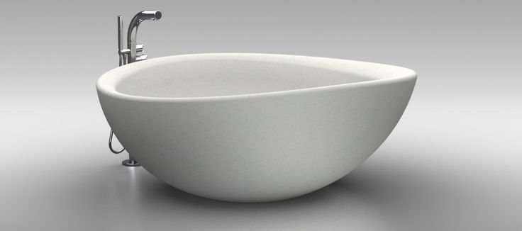 :: Mikayla Collection :: Beautiful, Stone Composite Tub