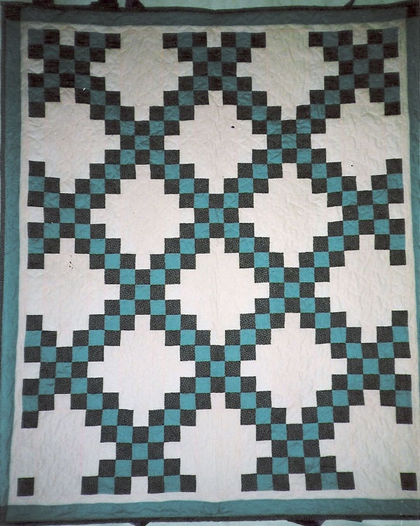 Quilt Pattern For Double Irish Chain : Pinterest