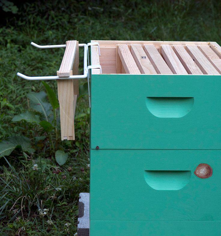 frame rest on hive