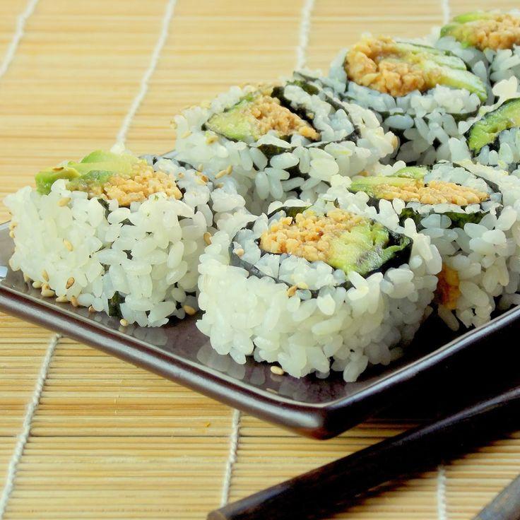 Peanut Avocado Sushi