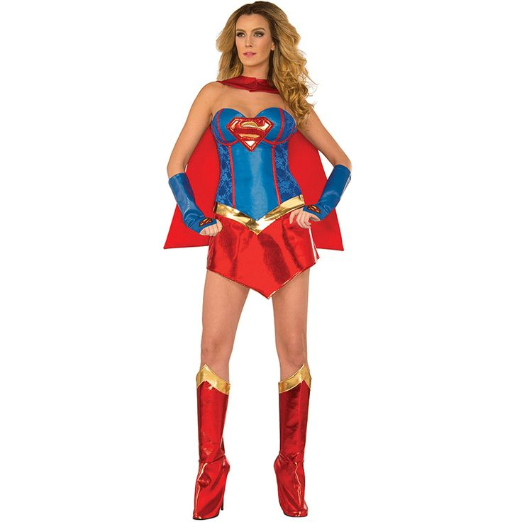 >> Click to Buy << Superman clothing The Game Uniform Female Superman Costume Wonder Woman Role Play Halloween Party #Affiliate