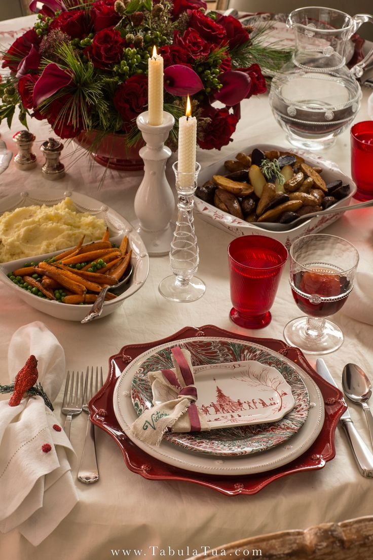 17 best images about home for the holidays on pinterest for Ideas for christmas dinner
