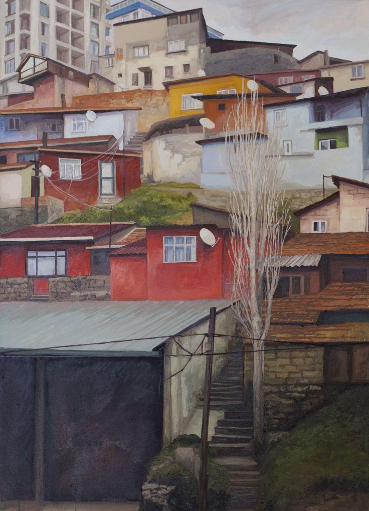 2014, 110 x 80 cm. Tuval üzerine yağlıboya / Oil on canvas