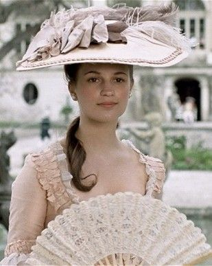 Alicia Vikander as Caroline Mathilde  A Royal Affair (2012) dir. Nikolaj Arcel