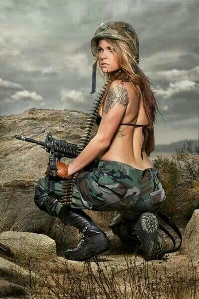 Army Female Porn Photo 95