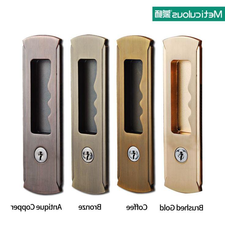 $26.29 (Watch more - https://alitems.com/g/1e8d114494b01f4c715516525dc3e8/?i=5&ulp=https%3A%2F%2Fwww.aliexpress.com%2Fitem%2FMortice-sliding-door-lock-with-keys-interior-room-and-toilet-hanging-sliding-door-embedded-lock-hook%2F32753924468.html) Mortice sliding door lock with keys interior room and toilet hanging sliding door embedded lock hook invisible move gate lockset