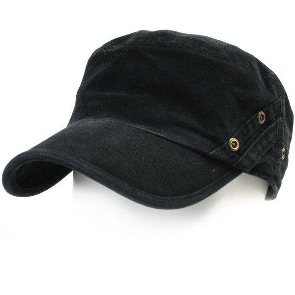 Amazon.com  ililily Vintage Cotton Cadet Cap Military Army Camo style...  ( 18) ❤ liked on Polyvore featuring accessories 4e09e1c716e