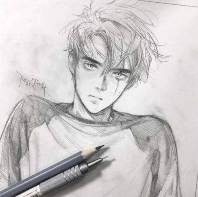 Anime Sketch Manga Boy Bokunoheroacademia Katsuki Bakugoucosplay Anime Drawings Pictures To Draw Anime Sketch