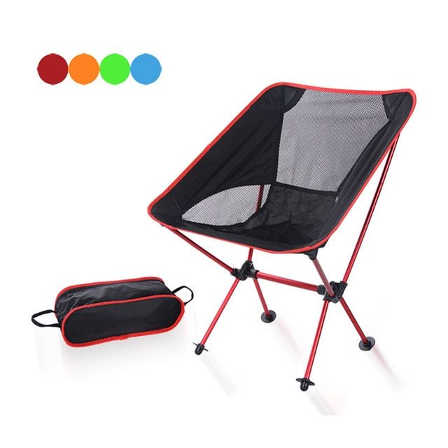 Portable Ultralight Folding Chair With Storage Bag Aluminum Alloy Oxford Chairs For Outdoor Sport Camping Hiking Fishing Best Pr Review Storage Chair