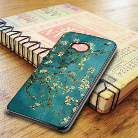 Van Gogh Flower Floral HTC One M7 Case