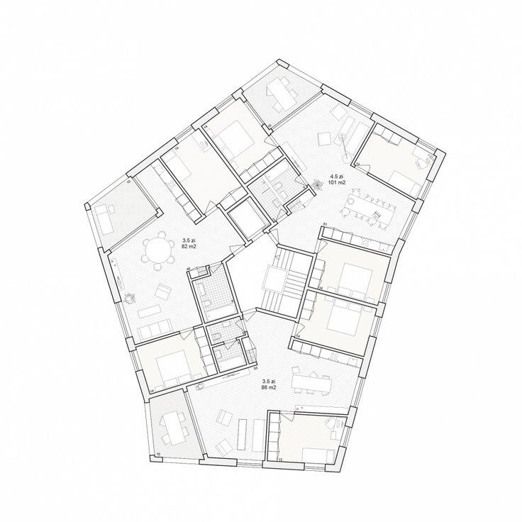 horgen / grundriss / herzog architekten