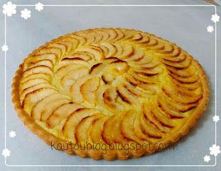Koutoublog طريقة عمل تارت التفاح بالصور Apple Pie Food Desserts