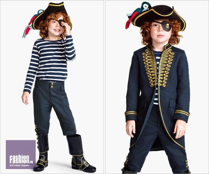 Костюмы пиратов и скелетов
