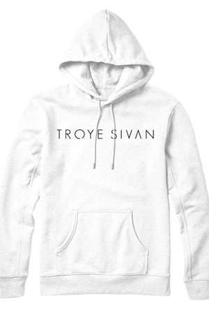 Logo Hoodie (White) - Troye Sivan - Official Online Store on District LinesDistrict Lines