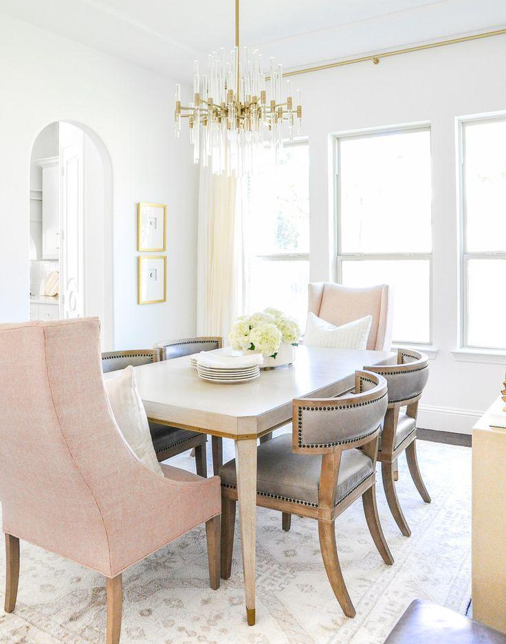 Elegant Dining Room Reveal Transitional Stylish Elegant