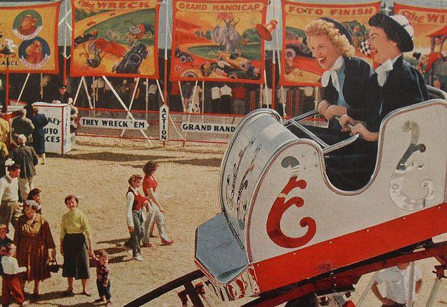 Theme park nostalgia