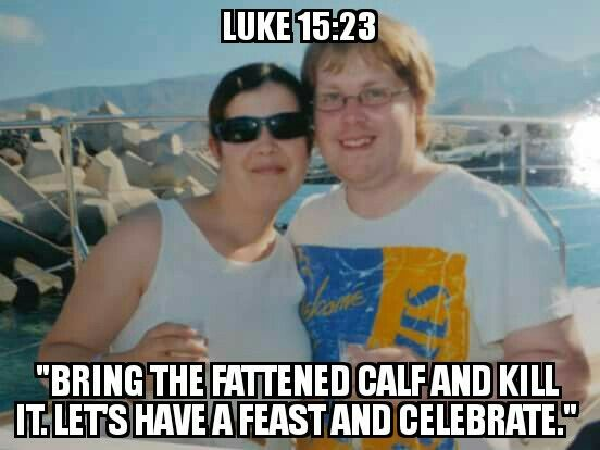 "Day 40: March 20th (Palm Sunday) - 'Celebrate' (6)  ""Bring the fattened calf and kill it. Let's have a feast and celebrate."" Luke 15:23  #Rethinkchurch #Rethinkphoto"