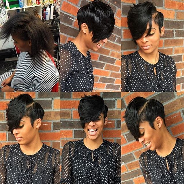 Short Cut Hairstyles 8 Best Hairstyles Images On Pinterest  Short Hair Black People And