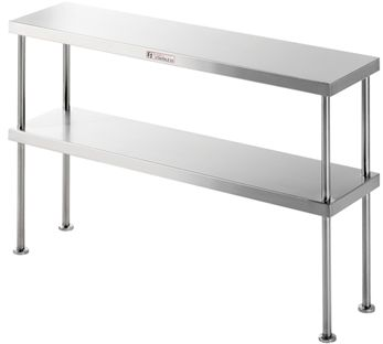 Commercial Stainless Steel Over Shelf - Simply Stainless SS13.1200 Over-Shelf - www.hoskit.com.au | Hoskit Online Store | Sydney, Melbourne, Perth, Brisbane
