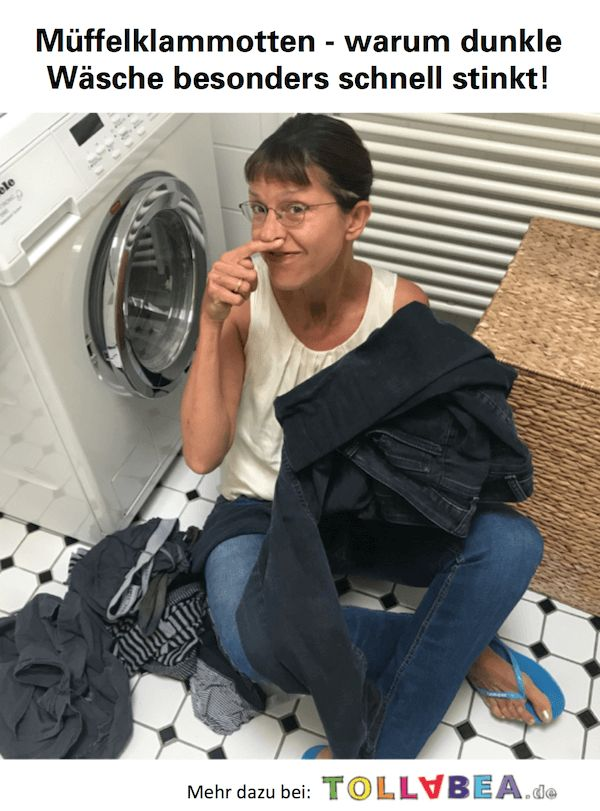 Müffelklamotten - warum dunkle Wäsche besonders schnell stinkt!