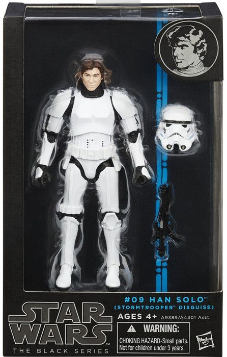 Re-create the biggest battles and missions in the Star Wars epic with figures from The Black Series! This highly articulated figure is part of Hasbro's first-ever 6-inch Star Wars figure collection. H