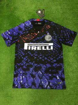9dbc8fbeb Inter Milan 18 19 Wholesale Blue Cheap Soccer Jersey Sale  N307 ...