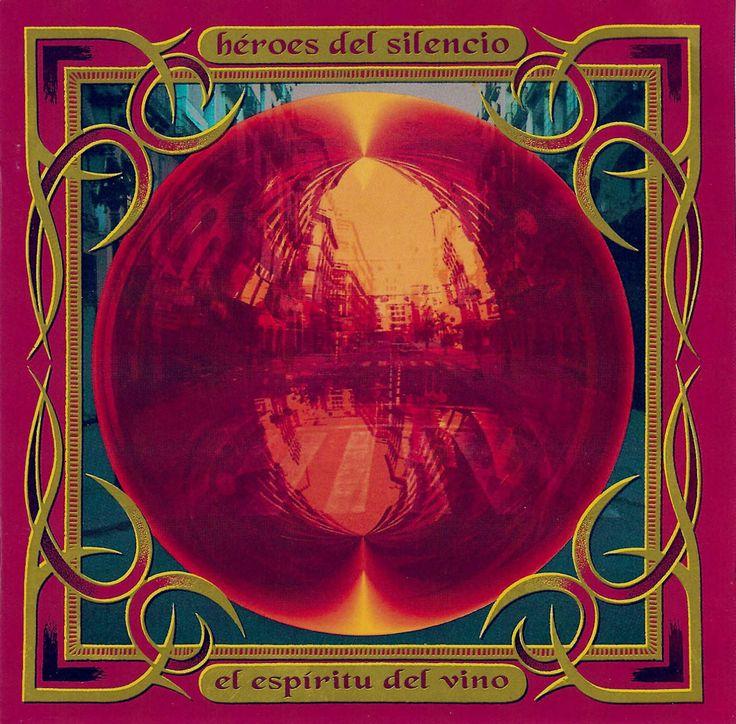 """Héroes del Silencio: """"El espíritu del vino"""" canción """" la sirena varada"""" (1993)"""