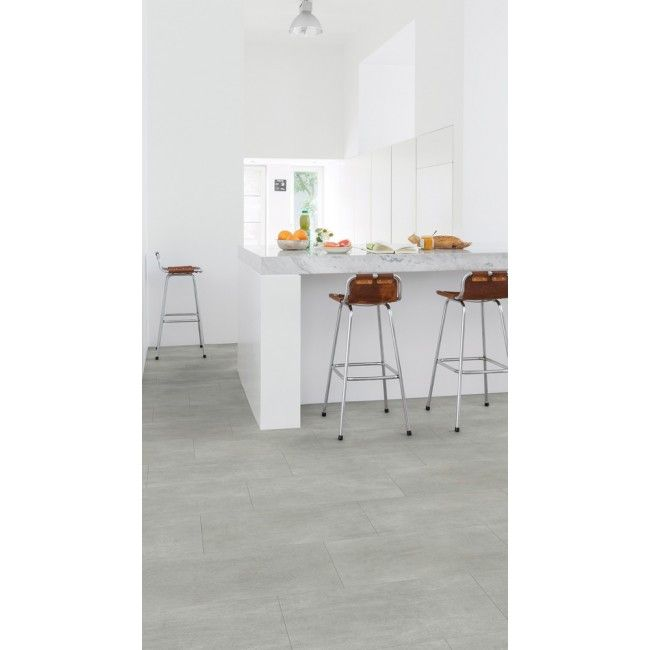 Ambient Warm Grey Concrete Effect by Quick Step AMCL40049