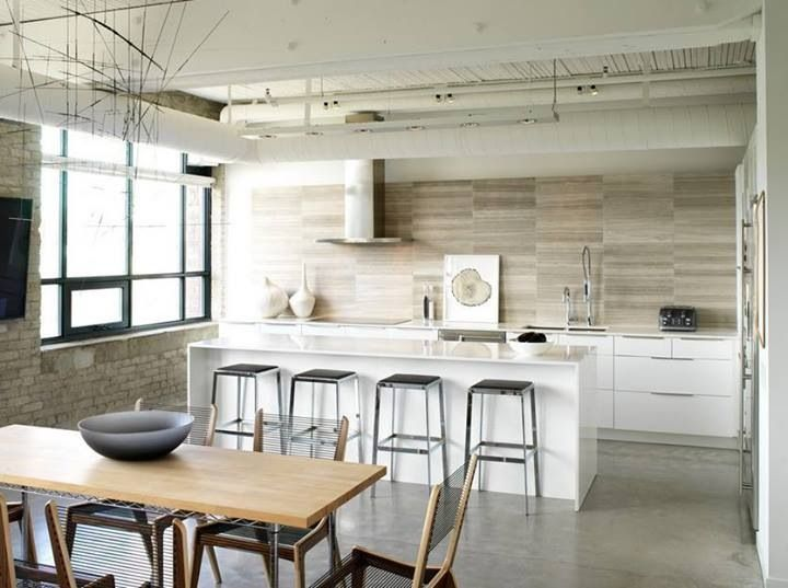 Cement Screed Kitchen