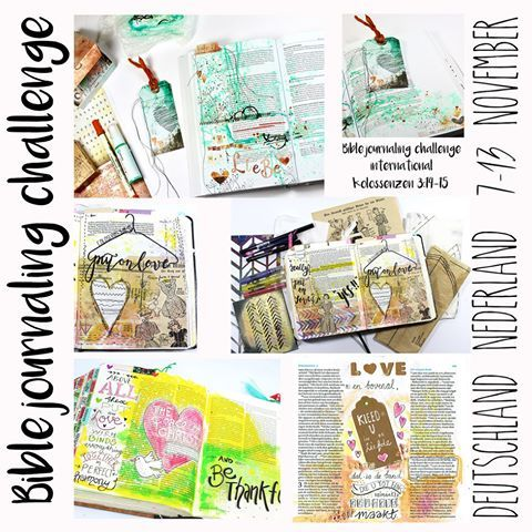 Die 1. Bible Journaling Challenge als gemeinsame Aktion 💞 von @biblejournaling.nl #Niederlande und#Deutschland ist ONLINE und startet jetzt und hier! Erfasse Gottes Wort kreativ und journal zu #Kolosser 3,14+15 Zeig uns Deine kreative Bibelseite per Hashtag bis 13.11.16, 19 Uhr #biblejournalingnederlandduitsland oder #bibleartjournalingniederlandedeutschland --- #bibleartjournaling #bibleaetjournalingdeutsch #gottistgut #gottistgroß #wearoneinchrist #einsinchristus