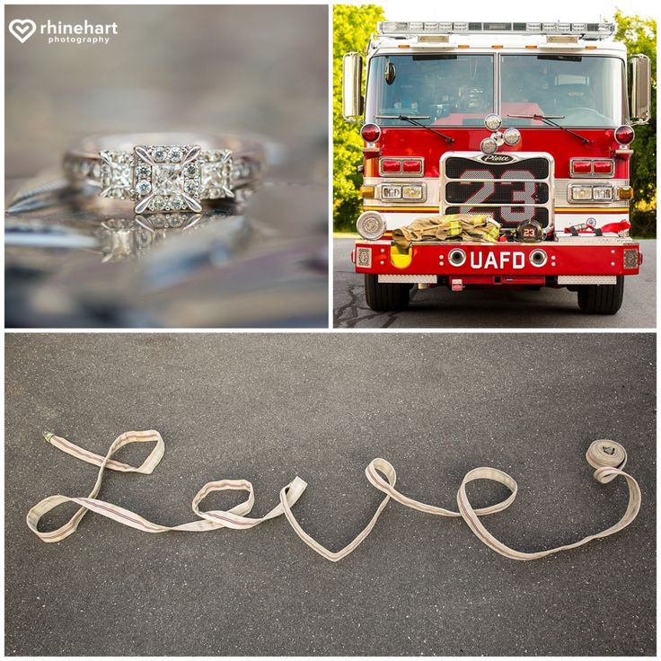 Firefighter Engagement Photo Session   Creative Best Carlisle Harrisburg  Camp Hill Messiah College Engagement Photography