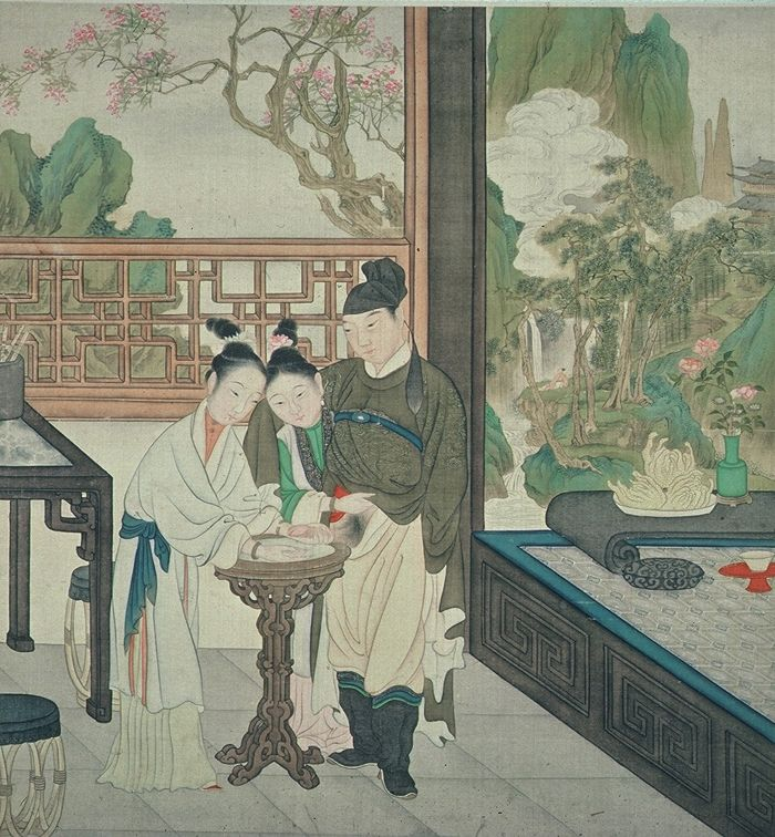 Erotic art in china