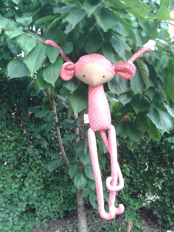 monkey in strawberry color :-)