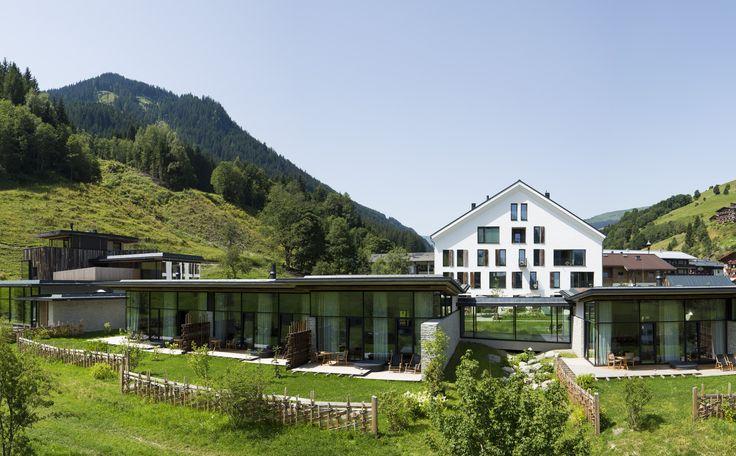 Wiesergut designhotel in den alpen in sterreich modernes for Urlaub designhotel