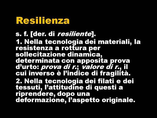 Le Cose Sono Come Sono: Esagerazioni sulla resilienza