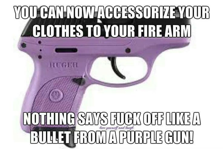 Always wanted a purple gun