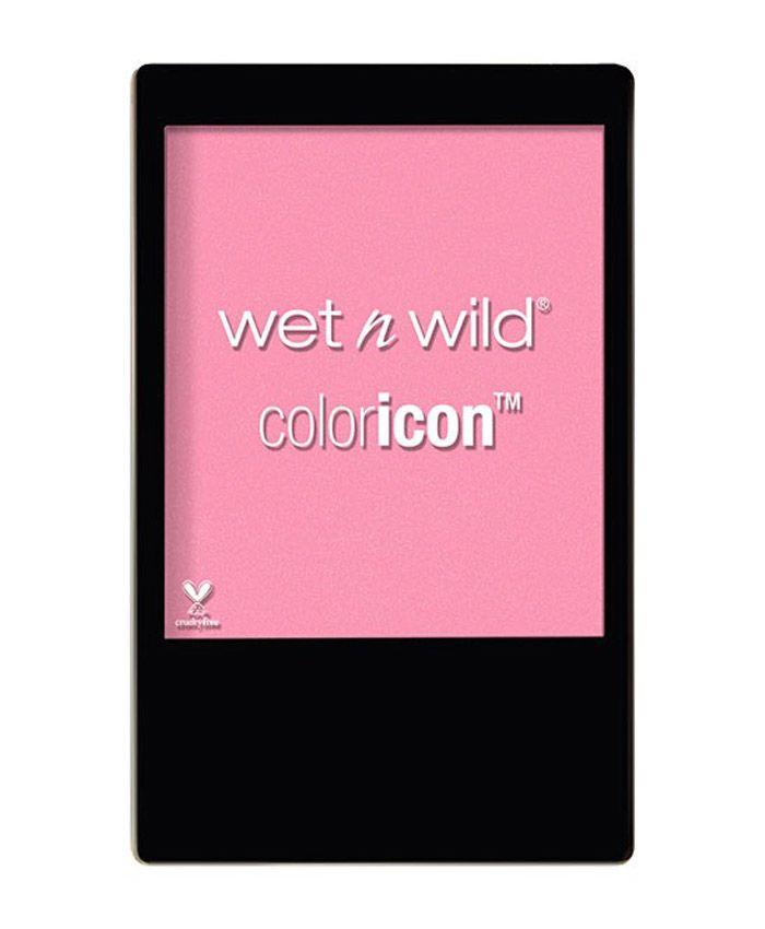 Мягкие пудровые румяна от Wet N Wild Color Icon Fantastic Plastic Pink - прекрасное сочетание легкого блеска и насыщенного цвета.