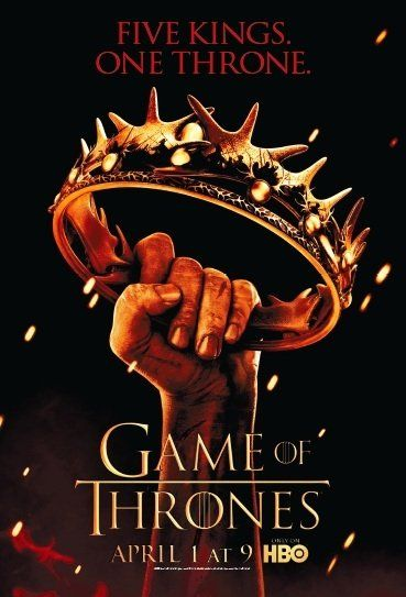 One of my all-time favorite series: Game of Thrones! It has everything: Impeccable writing, a beautiful and dedicated cast, stunning photography and sets. And it's one of those series where you never get tired of watching the intro titles!