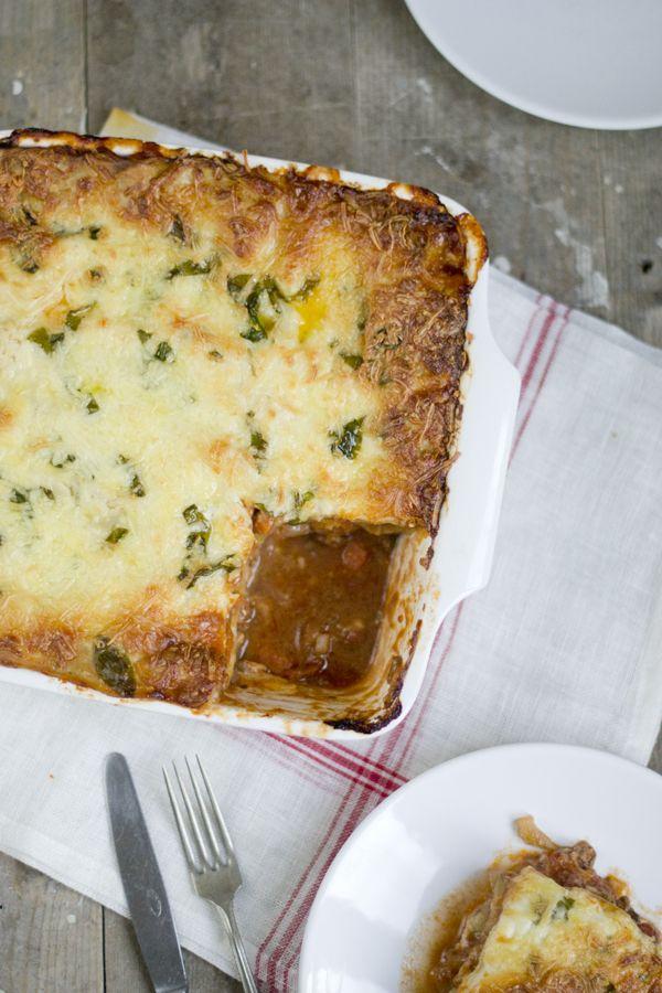 Lasagne Bolognese Recept   via BrendaKookt.nl